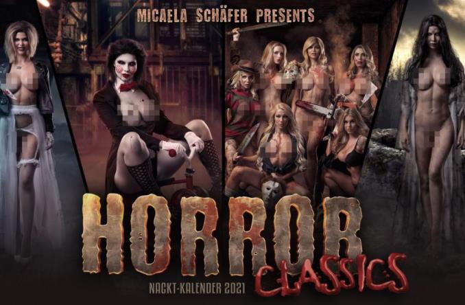 Micaela Schäfer Horror Kalender