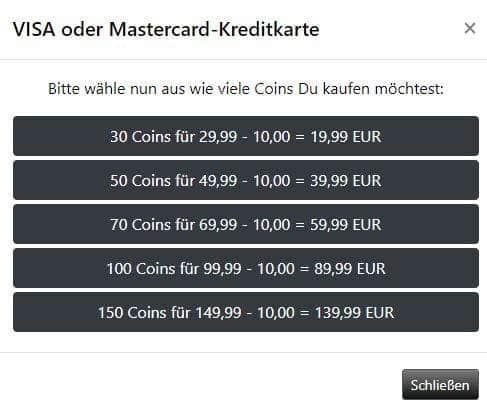 10 Euro kostenlos on top!