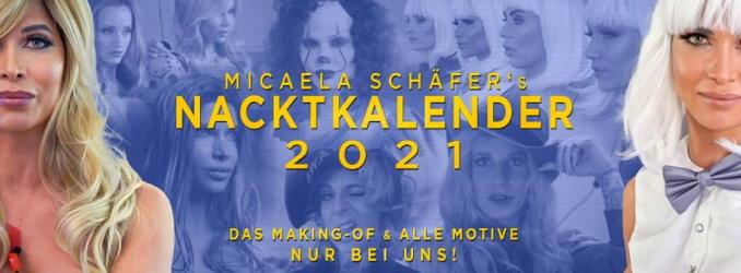 Micaela Schäfer Nacktkalender 2021