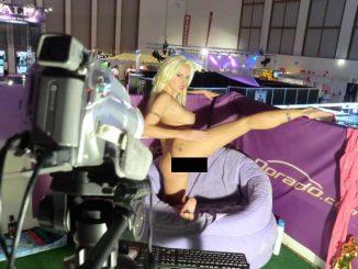 Livecam Show auf Venus Messe
