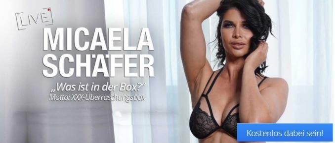 Micaela Schäfer Sextoy Unboxing