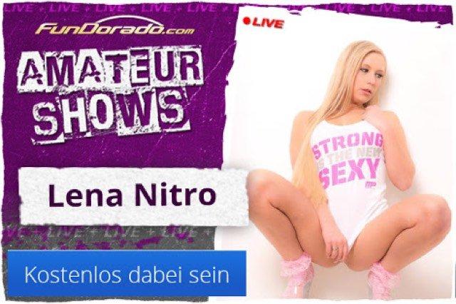 Lena Nitro Livecam bei Fundorado