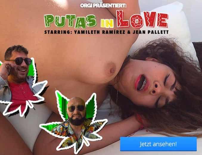 King Orgasmus One und Jean Pallett drehen Putas in Love