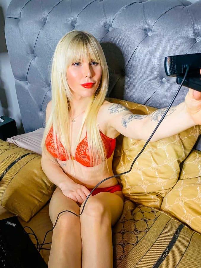 Sexy Selfie von Arielle Rippegather